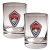 Colorado Rapids 2 pc. Rocks Glass Set