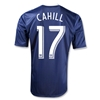 New York Red Bulls 2013 CAHILL Authentic Secondary Soccer Jersey