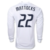 Vancouver Whitecaps 2012 MATTOCKS LS Authentic Home Soccer Jersey