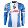 Philadelphia Union 2013 LS Authentic Secondary Soccer Jersey