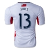 New England Revolution 2014 JONES Authentic Secondary Soccer Jersey
