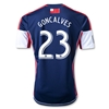 New England Revolution 2013 GONCALVES Primary Soccer Jersey