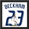 LA Galaxy Beckham Uniframe Jersey Photo
