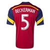 Real Salt Lake 2014 BECKERMAN Primary Soccer Jersey