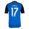 San Jose Earthquakes 2014 GARZA Primary Soccer Jersey