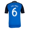 San Jose Earthquakes 2014 SALINAS Primary Soccer Jersey