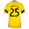 Columbus Crew 2014 ARRIETA Authentic Primary Soccer Jersey