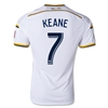 LA Galaxy 2014 KEANE Authentic Primary Soccer Jersey