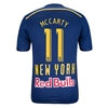 New York Red Bulls 2014 MCCARTY Authentic Secondary Soccer Jersey