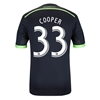 Seattle Sounders 2014 COOPER Authentic Third Soccer Jersey