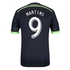Seattle Sounders 2014 MARTINS Authentic Third Soccer Jersey