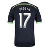 Seattle Sounders 2014 YEDLIN Authentic Third Soccer Jersey