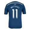 Vancouver Whitecaps 2014 MATTOCKS Authentic Secondary Soccer Jersey
