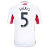 New England Revolution 2014 SOARES Secondary Soccer Jersey