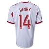 New York Red Bulls 2014 HENRY Replica Primary Soccer Jersey