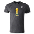 FIFA Confederations Cup 2013 Men's Fashion Trophy T-Shirt (Dark Gray)