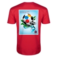 2018 FIFA World Cup Russia(TM) Rostov-on-Don Russian Men's Fashion T-Shirt (Red)