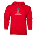 2018 FIFA World Cup Russia Official Emblem Hoody (Red)
