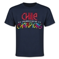 Chile Copa American 2015 Champions Youth T-Shirt (Navy)