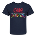 Chile Copa American 2015 Champions Kids T-Shirt (Navy)
