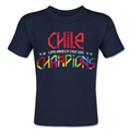 Chile Copa American 2015 Champions Toddler T-Shirt (Navy)