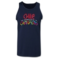 Chile Copa American 2015 Champions Tank Top (Navy)