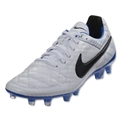 Nike Tiempo Legend V (White/Black/Treasure Blue)