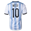 Argentina 2014 MESSI Home Soccer Jersey