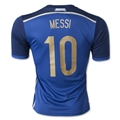 Argentina 2014 MESSI Away Soccer Jersey