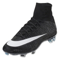 Nike Mercurial Vapor X Superfly CR FG (Black/White)