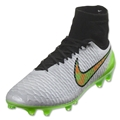 Nike Magista Obra FG Cleats (White Knight)