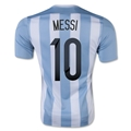 Argentina 2015 MESSI Home Soccer Jersey