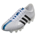 adidas 11Pro FG (White/Core Black/Solar Blue)