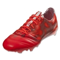 adidas F50 adizero FG Leather (Solar Red/White/Core Black)