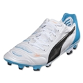 Puma evoPower 1.2 L FG (White/Black/Hawaiian Ocean)