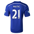 Chelsea 14/15 21 MATIC Home Soccer Jersey