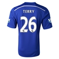 Chelsea 14/15 26 TERRY Home Soccer Jersey
