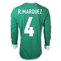 Mexico 11/12 R. MARQUEZ Home Long Sleeve Soccer Jersey