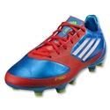 adidas F30 TRX FG Cleats (Prime Blue/White/Core Energy)