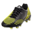 adidas Predator Absolion LZ TRX FG Junior (Black/Lab Lime/Neo Iron Metallic)