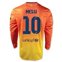 Barcelona 12/13 MESSI LS Away Soccer Jersey