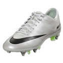 Nike Mercurial Vapor IX SG Pro (Metallic Platinum/Electric Green)