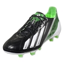 adidas F50 adizero TRX FG Leather miCoach compatible (Black/Running White/Green Zest)