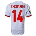 Mexico 2013 CHICHARITO Third Soccer Jersey