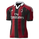 AC Milan 12/13 Youth Home Soccer Jersey