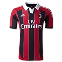 AC Milan 12/13 Authentic Home Soccer Jersey