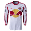 New York Red Bulls 2013 Authentic LS Primary Soccer Jersey
