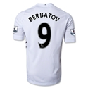 Fulham 12/13 Dimitar Berbatov Authentic Home Soccer Jersey
