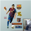 Barcelona David Villa Wall Fathead