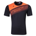adidas F50 Poly T-Shirt (Blk/Orange)